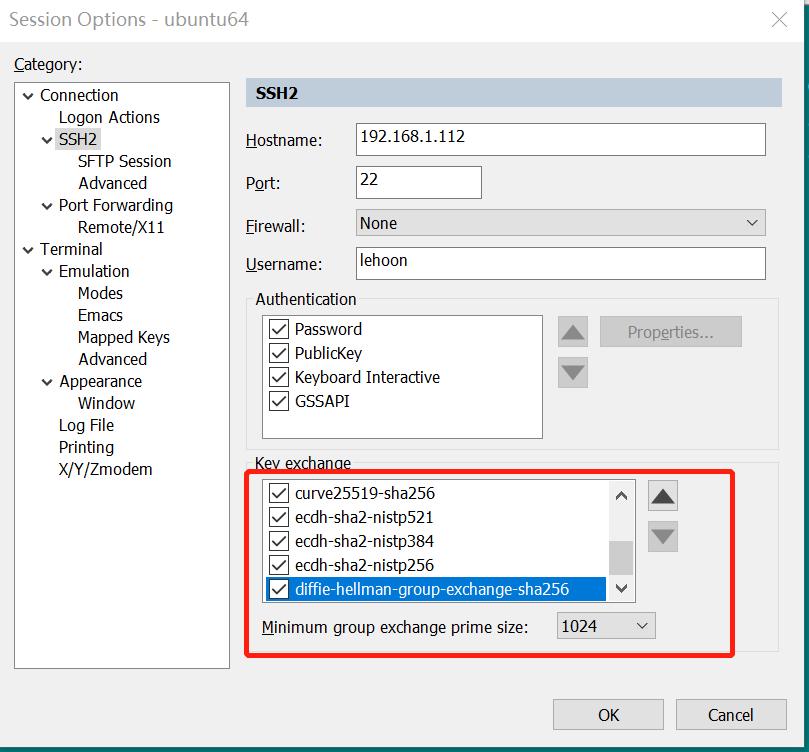 SecureCRT连接linux操作系统密钥交换失败解决方法 - 第8张  | 乐生活