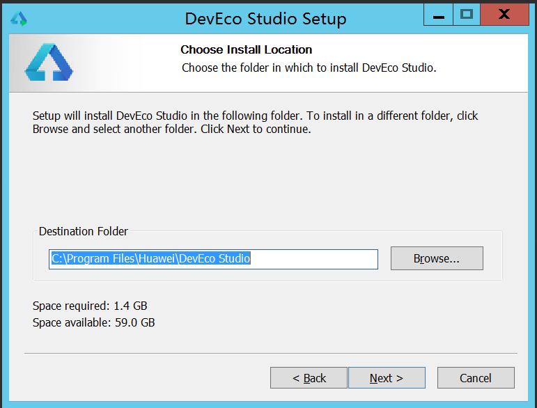 HUAWEI DevEco Studio2.0 安装配置环境记录 - 第4张  | 乐生活