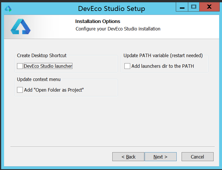 HUAWEI DevEco Studio2.0 安装配置环境记录 - 第5张  | 乐生活