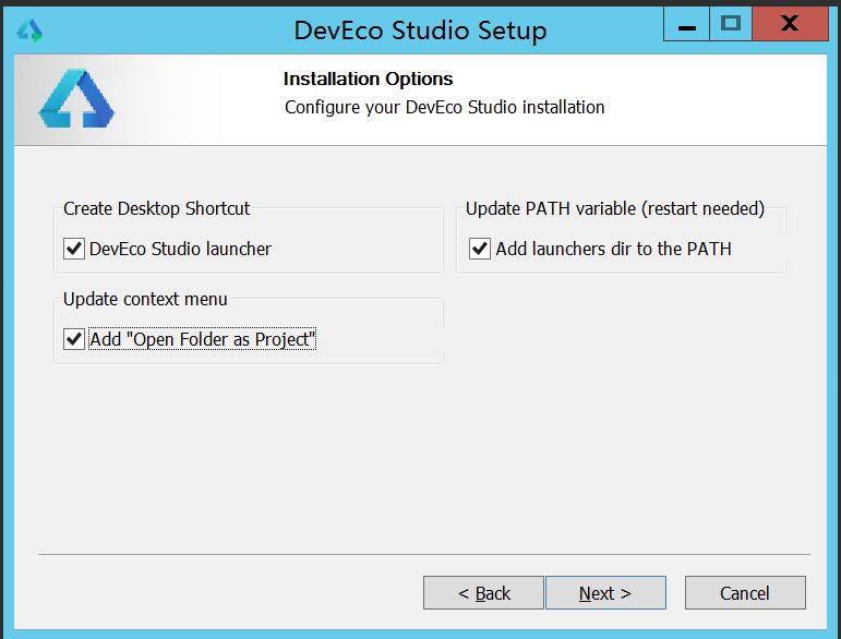 HUAWEI DevEco Studio2.0 安装配置环境记录 - 第6张  | 乐生活